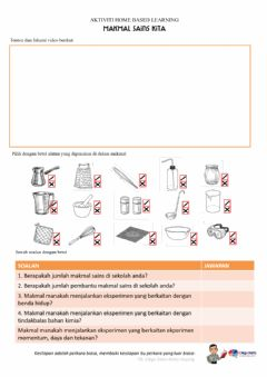 Interactive worksheet Makmal KIta
