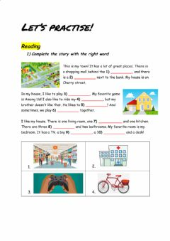 Interactive worksheet Let's practise!