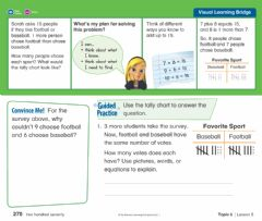 Interactive worksheet Envisions 6-5 Independent Practice