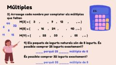 Interactive worksheet Múltiples (2)