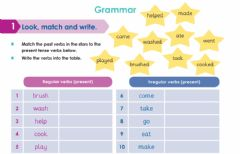 Interactive worksheet Regular and Iregular verbs