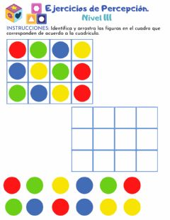 Interactive worksheet Percepción 3-3