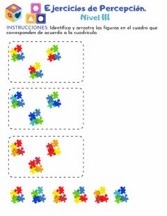 Interactive worksheet Percepción 4-4