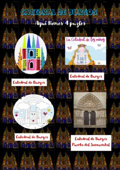 Interactive worksheet Catedral de Burgos