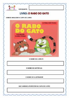 Interactive worksheet História o rabo do gato