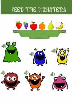Interactive worksheet Fruits
