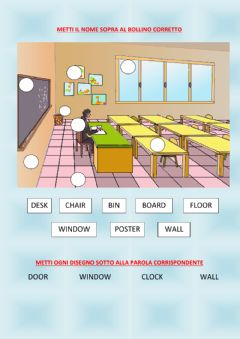 Interactive worksheet In the classroom