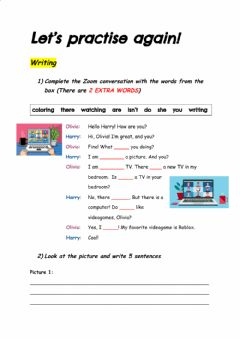 Interactive worksheet Writing activity