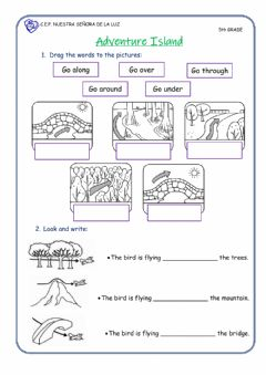 Interactive worksheet Give direction