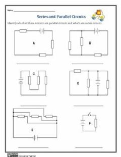 Interactive worksheet Series and parallel circuit