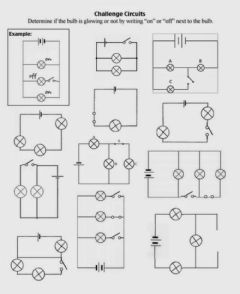 Interactive worksheet Series and parallel circuit 2