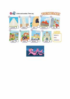 Ficha interactiva Vocabulary unit 4 Places of interest