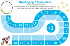 Ficha interactiva Divide by 2