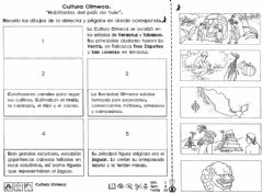 Interactive worksheet Los Olmecas
