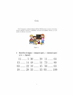 Interactive worksheet Menor, Mayor o Igual