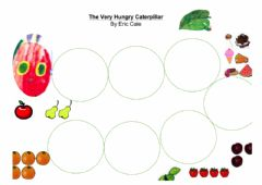Interactive worksheet The very Hungry Caterpiller