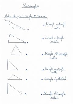 Interactive worksheet Triangles