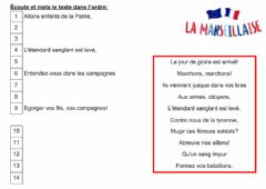 Interactive worksheet La Marseillaise