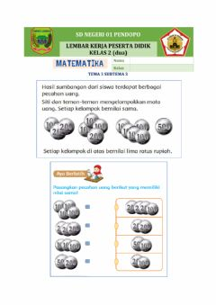Interactive worksheet Matematika