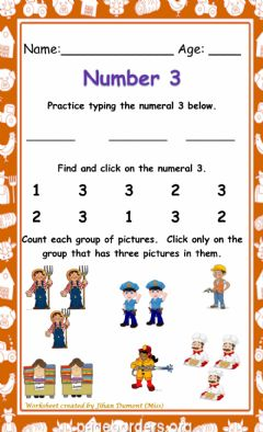 Interactive worksheet Number 3