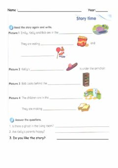 Interactive worksheet Year 3