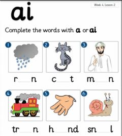 Interactive worksheet Ai or a