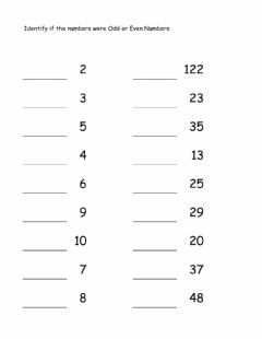 Interactive worksheet Math Odd And Even Numbers