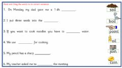 Interactive worksheet Oi digraph day 2
