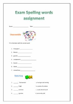 Ficha interactiva Assignment