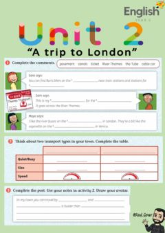 Interactive worksheet Unit 2 Lesson 3 Activity 2 Year 5