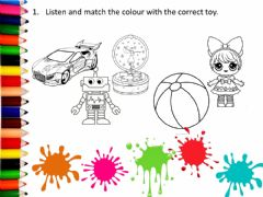 Interactive worksheet My lovely toys