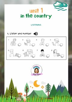 Interactive worksheet Explorers Level 3 Unit 1: In the country