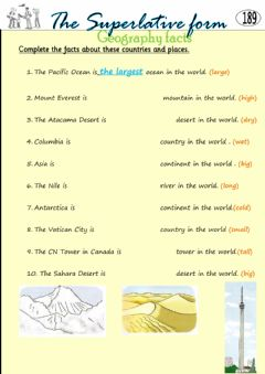 Interactive worksheet 4° 189