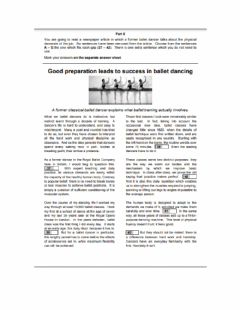 Interactive worksheet FCE Reading & Use of English part 6