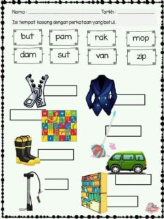 Interactive worksheet Latihan KVK
