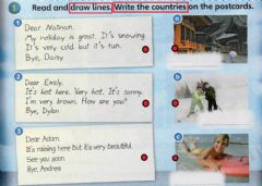 Interactive worksheet Read and draw lines. Write the countries
