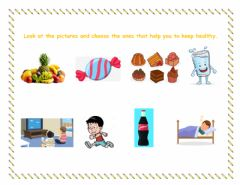 Interactive worksheet How to stay healthy