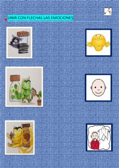 Interactive worksheet Mis emociones
