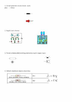 Interactive worksheet Elektronika
