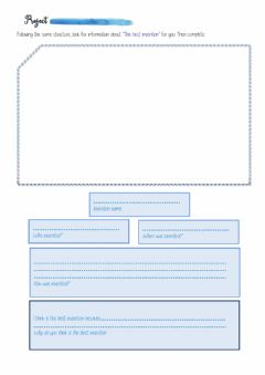 Interactive worksheet Inventions project