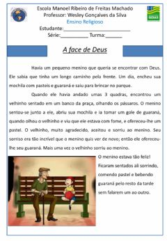 Interactive worksheet A Face de Deus