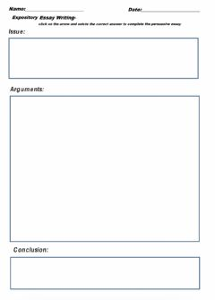 Interactive worksheet Expository Essay