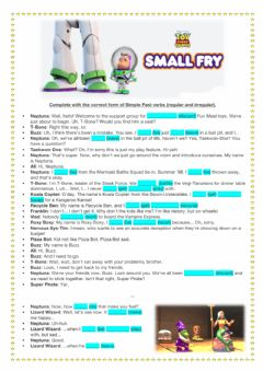 Ficha interactiva Video: Toy Story - Small Fry