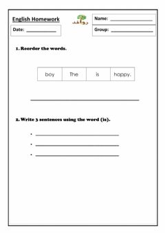 Interactive worksheet Lesson 18: HFW is