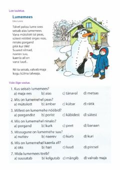 Interactive worksheet Eesti keel