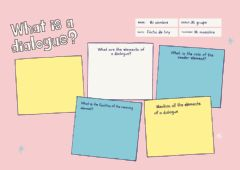 Interactive worksheet What is a dialogue?