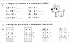 Interactive worksheet Calcoli