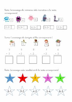 Interactive worksheet Sumes i restes