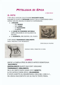 Interactive worksheet Mitologia ed Epica