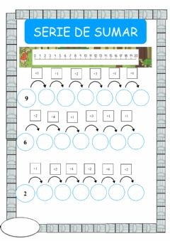 Interactive worksheet Series de sumas 1